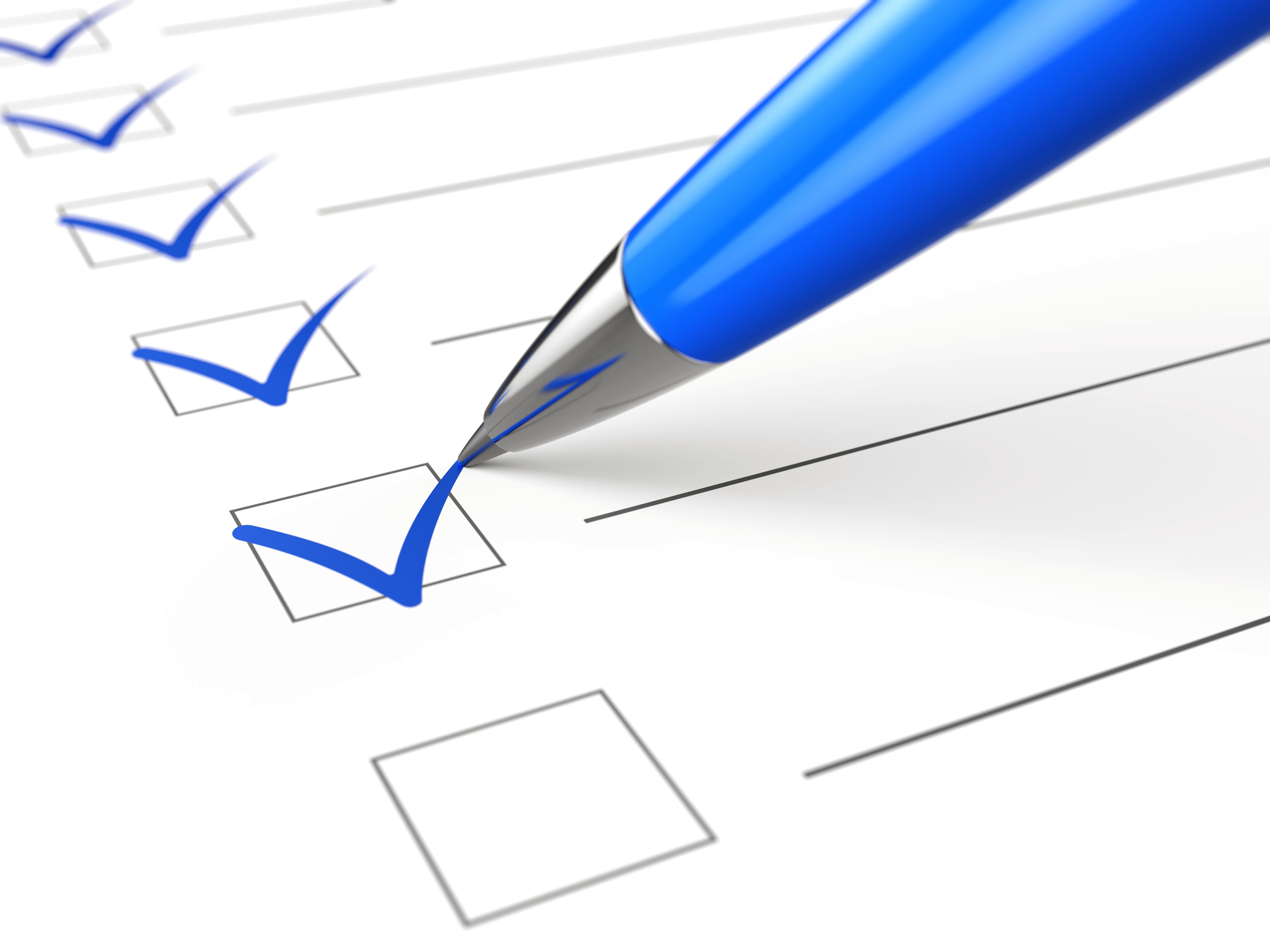 LASIK Checklist